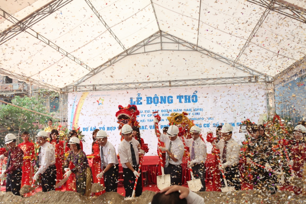 Động thổ dự án Five Star Kim Giang