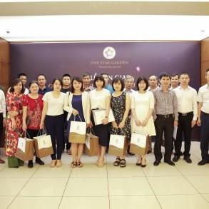 GFS chính thức bàn giao Giấy chứng nhận quyền sở hữu căn hộ cho cư dân