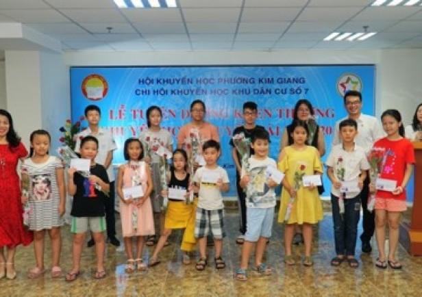 Đẩy mạnh hoạt động khuyến học, khuyến tài tại cụm chung cư Five Star Garden