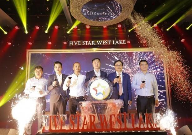 3 giờ sau lễ ra mắt, dự án Five Star West Lake đã bán được 80% số căn hộ