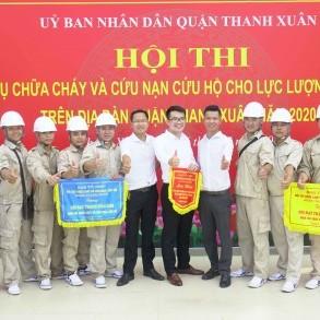 Five Star Kim Giang giành 2 giải cao tại hội thi Nghiệp vụ Chữa cháy và Cứu nạn cứu hộ