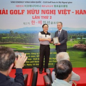 GFS tài trợ Giải Golf Hữu nghị Việt – Hàn lần thứ 2