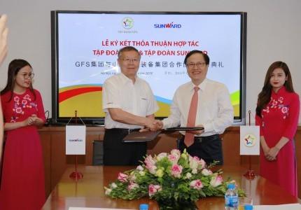 Tin Nội Bộ - Lễ ký thoả thuận hợp tác giữa Tập đoàn GFS và Tập đoàn Sunward