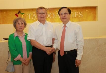 Tập đoàn GFS ký hợp tác thỏa thuận với tập đoàn Sunward