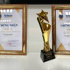 Các dự án Bất động sản của Tập đoàn GFS tiếp tục đoạt những danh hiệu mới