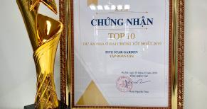 FIVE STAR GARDEN - Top 10 dự án nhà ở đại chúng tốt nhấ