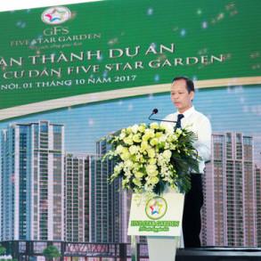 Khánh thành tổ hợp chung cư chất lượng cao Five Star Garden